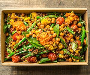 Quinoa and romesco salad (Low Gluten) thumbnail