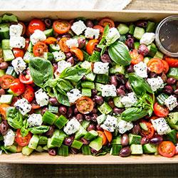 Greek salad (Low Gluten) thumbnail