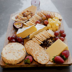 Dried fruit, cheese and nuts platter thumbnail