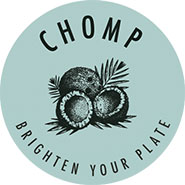 Chomp Life Catering logo