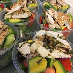 Grilled chicken salad thumbnail