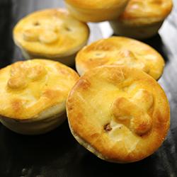 Gourmet party pies - mini thumbnail