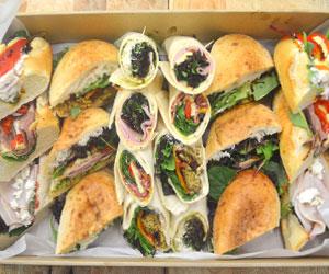 Mixed gourmet rolls and wraps thumbnail