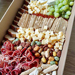 Cheese and cold meats platter thumbnail