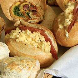 Breakfast baguettes - mini thumbnail