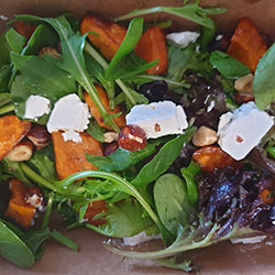 Sweet potato and feta salad thumbnail