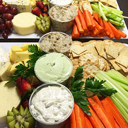 Cheese and dip platter thumbnail