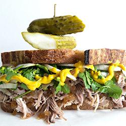 Sourdough rye sandwich thumbnail