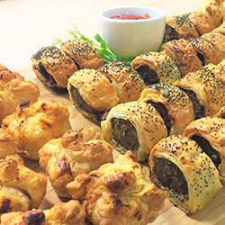 Sausage roll and pie platter thumbnail