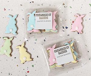 Colorful gingerbread bunny packs thumbnail