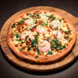 Creamy garlic and chilli prawns thumbnail