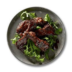 Bourbon BBQ pork ribs thumbnail