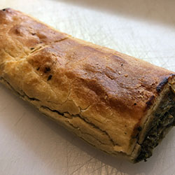 Spinach and feta sausage roll thumbnail