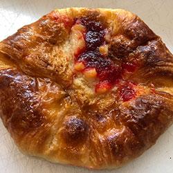 Strawberry danish pastry thumbnail