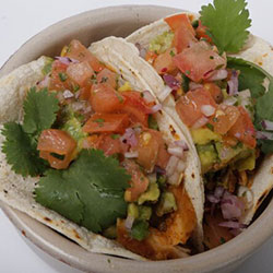 Pulled chicken taco thumbnail