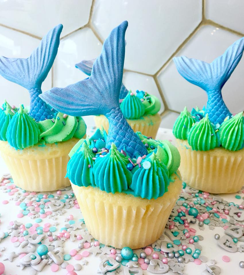 Mermaid cupcake thumbnail