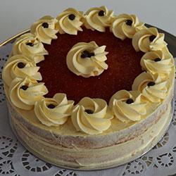 Victoria sponge cake - 8 inch thumbnail
