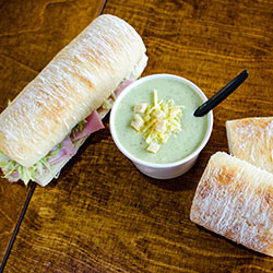 Sandwich and soup SuperGroup platter - serves 5 to 8 thumbnail