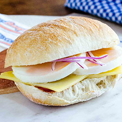 The over easy breakfast sandwich thumbnail