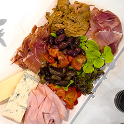 Charcuterie and cheese platter thumbnail