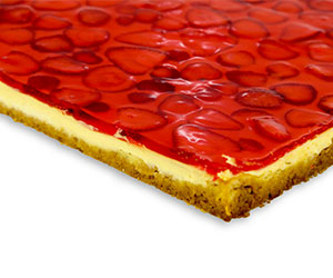 Strawberry cheesecake - slab cake thumbnail