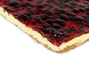 Wildberry cheesecake - slab cake thumbnail