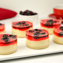 Wildberry cheesecake - 3 inch - box of 6 thumbnail