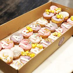 Happy Birthday mini donuts thumbnail