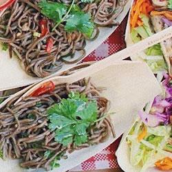 Vermicelli salad platter thumbnail