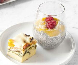 Breakfast chia pudding - mini thumbnail