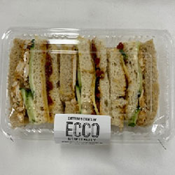 Individual boxed finger sandwich thumbnail