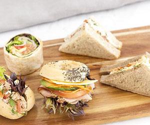 Sandwich and mini rolls platter thumbnail