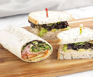Sandwiches and wraps platter thumbnail