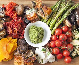 Vegetarian antipasto platter thumbnail