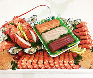 Deluxe seafood platter thumbnail