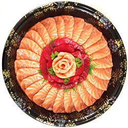 Flower sashimi platter thumbnail
