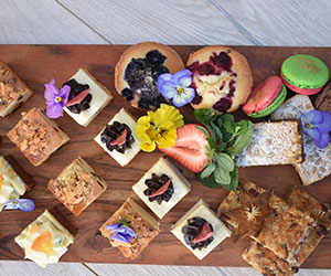 Sweets and fruit platter thumbnail