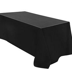 Linen tablecloth - black thumbnail