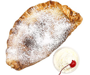 Nutella calzone thumbnail