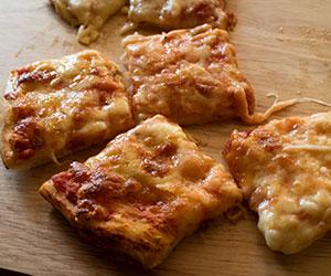 Pizza squares - mini thumbnail