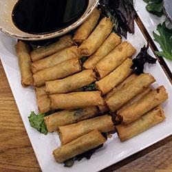 Vegetarian spring rolls - mini thumbnail