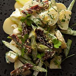 Potato chat salad thumbnail