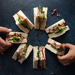 Traditional home style sandwiches thumbnail