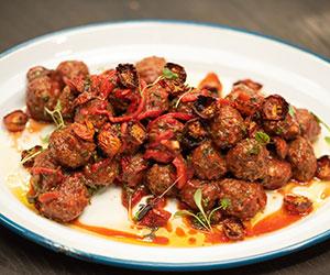 Beef meatballs platter thumbnail
