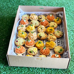 Savoury tartlets thumbnail
