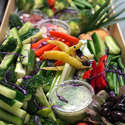 Garden crudites and dips box thumbnail