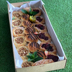 Sweet Danish pastries thumbnail