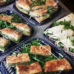 Gourmet mixed bread sandwich thumbnail