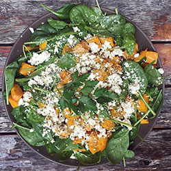 Pumpkin and fetta salad thumbnail