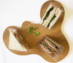 Individually packaged classic sandwiches thumbnail